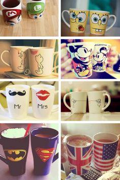 Cute coffee mugs ☕☕