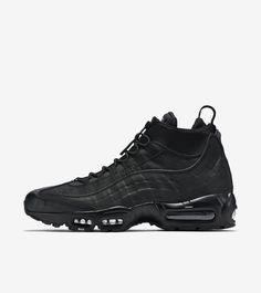 Nike Air Max 95 Sneakerboot  Triple Black  474939be6