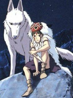 Top 10 Ghibli Characters People Want to Date Anime Wolf, Manga Anime, Fanarts Anime, Anime Art, Hayao Miyazaki, Totoro, Studio Ghibli Art, Studio Ghibli Movies, Princess Mononoke Cosplay