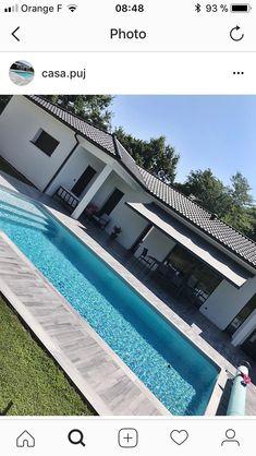 Pin on Villas de luxe Hot Tub Backyard, Backyard Pool Landscaping, Backyard Pool Designs, Small Backyard Pools, Outdoor Pool, Swiming Pool, Swimming Pools Backyard, Swimming Pool Designs, Small Pool Design