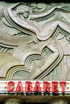 Art Deco Facade Detail, Folies-Bergere. Paris, France...Inspiration for your Paris vacation from Paris Deluxe Rentals