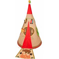 Buy Traditional Garden Games Wigwam Play Tent at Argos. Thousands of products for same day delivery or fast store collection. Outdoor Toys, Outdoor Games, Outdoor Decor, Teepee Tent, Play Tents, Garden Games, Activity Centers, Imaginative Play, Fun Prints