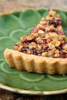 Cranberry Walnut Tart...again