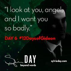On the sixth day of Gideon my lover said to me…#12DaysofGideon