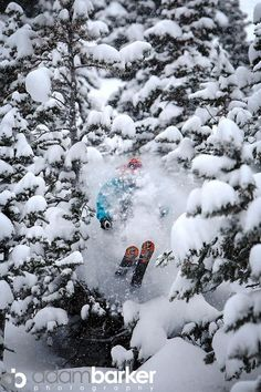 Skiing by Braille - Rob Greener at Solitude Mountain Resort, UT