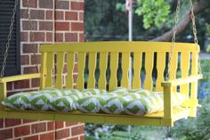 Porch swing project.