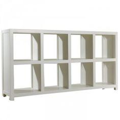 Jeremy Low 8 Cube Bookcase White