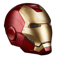 Highly detailed and 1 : 1 full-scale premium role-play items come to the Marvel Legends line! In addition to 2 glowing LED eyes, the Iron Man Helmet has a magnetized faceplate that can be completely detached from the helmet and then connected to the top. Attaching and detaching the faceplate triggers light up eyes and dramatic sound effects.