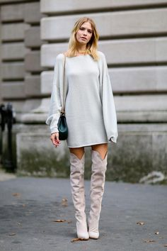 Stone-colored boots are on our wish list.