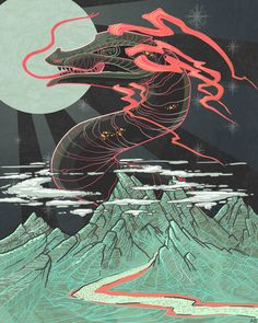 God of the Mountain on Behance