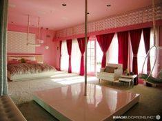 Bedroom stripper tubes