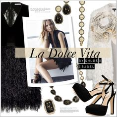 La Dolce Vita by cjfdesign on Polyvore featuring Alice + Olivia, Topshop, Michael Kors, Chloe + Isabel, Sophie Darling, women's clothing, women's fashion, women, female and woman