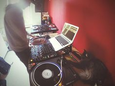 Second DJ lesson for my cat  #kassel #casselfornia #djs #Dj #djing #djset #djlife #cat #mainecoon #music #mixing #turntablism #turntable #pioneerdj by officialdjluke http://ift.tt/1HNGVsC