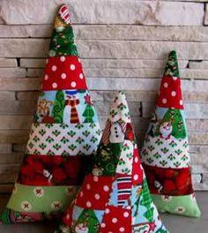 Árvore de Natal Patchwork
