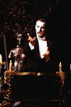 Steve Barton as The Phantom in The Phantom of the Opera, Broadway. Photo Credit: Joan Marcus