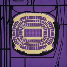 M Bank Stadium Print, $29, now featured on Fab.