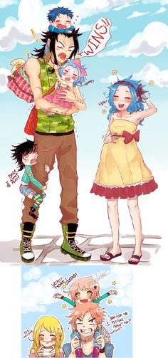 GaLe and NaLu families.