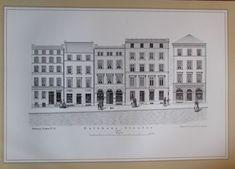 Rathhaus-Straße Nord-Seite Hamburg 1846-47 - Reprint aus der 80er Jahre Nr. 21