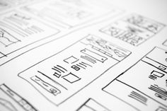 Check out Website Layout Doodles by Hal Gatewood on Creative Market