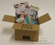 Team Swap – BEST DECISION EVER Card in a Box :: Confessions of a Stamping Addict
