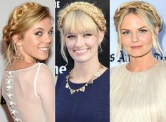 Milkmaid braids are back! Who wore the look best?