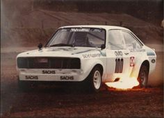 Ford Escort rallycross car Sport Cars, Race Cars, Ford Escort, Rally Car, Driving Test, Circuit, Hot Rods, Old School, Competition