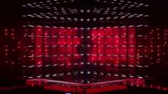 Eurovision Stage (in action) 2014