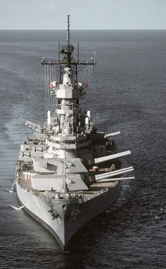 Gulf War Weapons - USS Missouri, BB64 - its to bad she and her sisters were decommissioned...