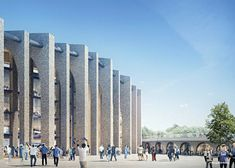 Gallery - Herzog & de Meuron Release Updated Images of the New Chelsea FC Stadium in London - 7