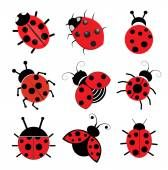 Illustration of Illustration of cute kids wearing insect and flower costumes vector art, clipart and stock vectors. Lady Bug Tattoo, Ladybug Cartoon, Ladybug Art, Ladybug Nails, Clipart, San Antonio, Banner Printing, Royalty Free Images, Tattoo