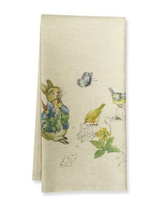 Because I LOVE Beatrix Potter stories :) Peter Rabbit Towel #williamssonoma