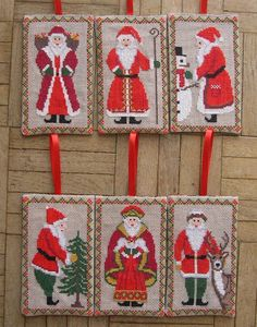 Six Santas to Stitch