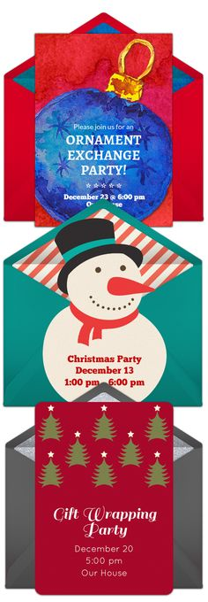 Free Holiday Sweater Invitations Party invitations and Holidays - free xmas invitations