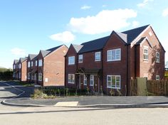 Poole Fields, Brakeley Lane, Little Leigh. 8 affordable family houses for rent and shared ownership on behalf of Muir Group Housing Association. Croft Goode Architects.