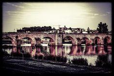 Puente de Palmas. Badajoz.