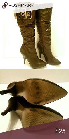 Anne Michelle Boots Worn once. Excellent condition. Anne Michelle Shoes Winter & Rain Boots