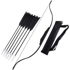 Mtxc Hunger Game Cosplay Katniss Everdeen Prop Weapon Bow Black (625 BRL) ❤ liked on Polyvore featuring weapons