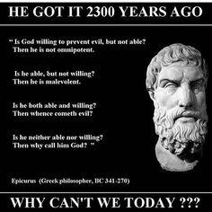 philosophy: exposing the idiocy of religion for millennia Atheist Humor, Atheist Quotes, Religion Quotes, Wisdom Quotes, Life Quotes, Humanist Quotes, Secular Humanism, Philosophy Quotes, He Is Able