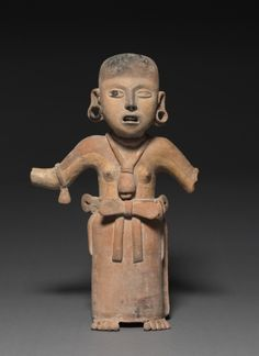Female Figure, 200-500 Mexico, Southern Veracruz, Limon, Remojades Monumental Sculpture type