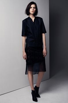 Helmut Lang Pre-Fall 2013 Collection Slideshow on Style.com