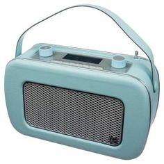 Buy Kitsound Jive Retro DAB Radio Duck Egg Blue from our DAB Radio range - Tesco.com