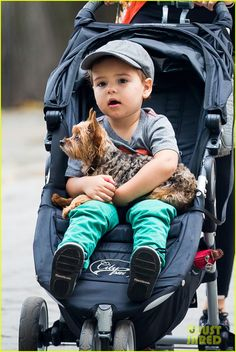 Miranda Kerr takes her son Flynn for a walk in Central Park on July 26, 2013