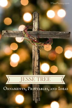 This year, our family will be celebrating the season with a simple DIY Jesse Tree and Unwrapping the Greatest Gift: A Family Celebration of Christmas by Ann Voskamp. If you are looking for a spiritual(Diy Ornaments Christian) Jessie Tree Ornaments, Diy Christmas Ornaments, Christmas Holidays, Christmas Decorations, Christmas Ideas, Ornaments Ideas, Christmas Tables, Christmas Tree, Beaded Ornaments