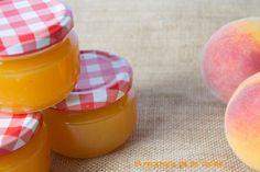 La típica mermelada de melocotón casera, deliciosa que siempre tiene que haber en nuestra despensa,