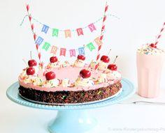 Happy Birthday Banner für Kuchen