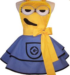 Hey, I found this really awesome Etsy listing at http://www.etsy.com/listing/159152523/sexy-minion-apron-pin-up-style