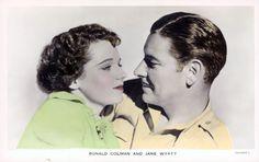 Still of Ronald Colman and Jane Wyatt in Lost Horizon (1937)