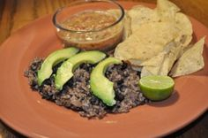 Nicaraguan Gallo Pinto. Just missing a beer
