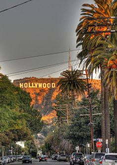 Los Angeles..on a clear day I can see the Hollywood sign all the way up Van Ness Ave