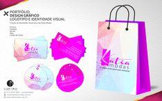 PORTFÓLIO DESIGN GRÁFICO LOGOTIPO E IDENTIDADE VISUAL Criação da Identidade Visual para loja Katia Modas. Serviço: Logotipo, Sacola, Tags, Cartão de Visita.